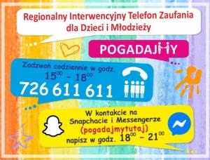 informacja o telefonie zaufania